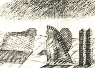 Shapes from the Past (Drawing III)